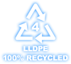 llpde 100% recycled